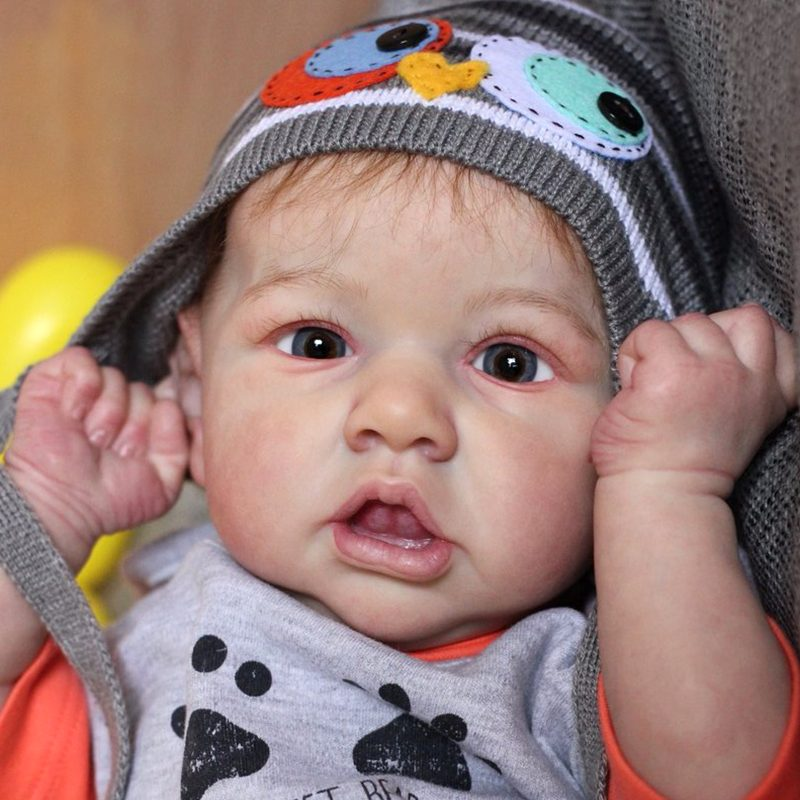 "22"" Kids Reborn Lover Edwin Reborn Baby Doll Boy Toy"