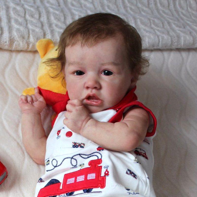 "22"" Handmade Reborns Rylee Reborn Baby Doll Boy Toy"
