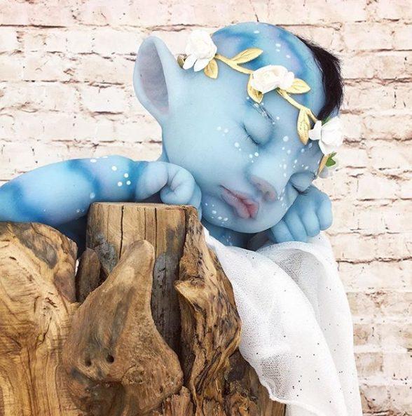 """20"""" Realistic Celeborn Reborn Handmade Fantasy Baby Boy"""