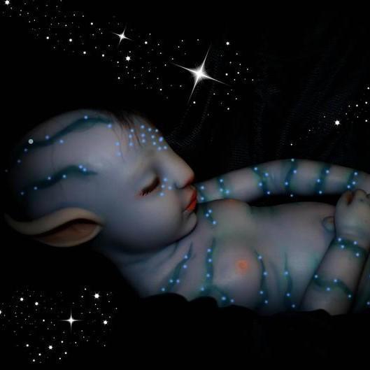 "20"" Soft Jobe Truly Handmade Baby Glow Boy Doll"