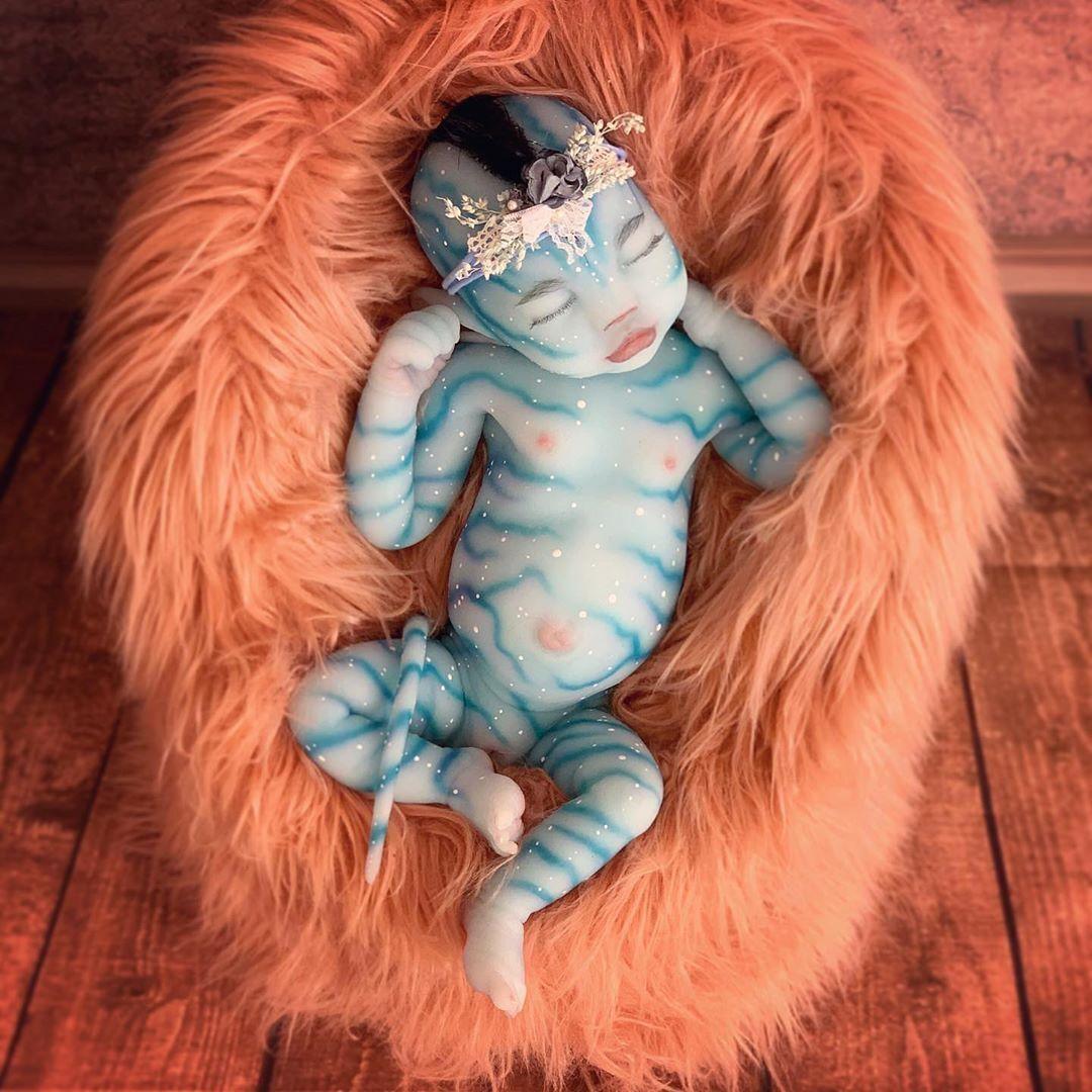 "20"" Realistic Reborn Handmade Fantasy Baby Girl"