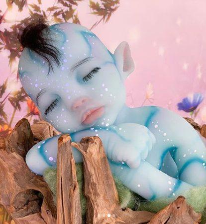 "20"" Realistic Morris Reborn Handmade Fantasy Baby Boy"