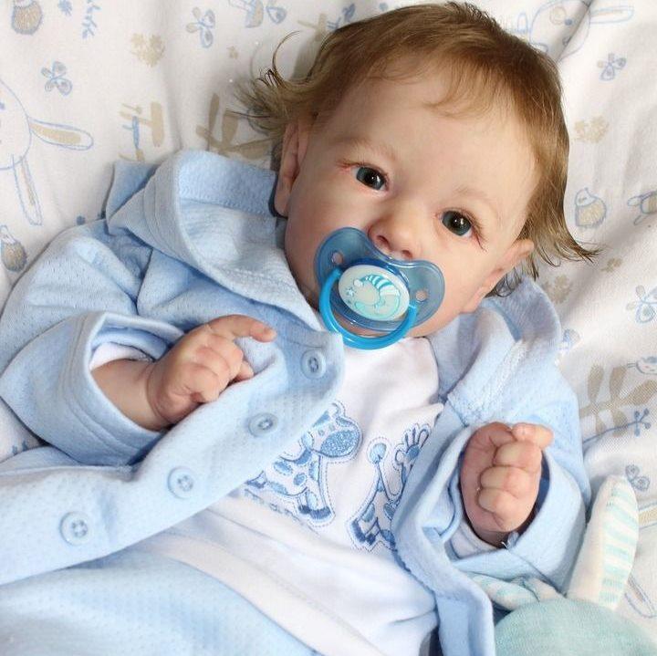 22″ Johnson Truly Reborn Baby Doll Boy, Gift