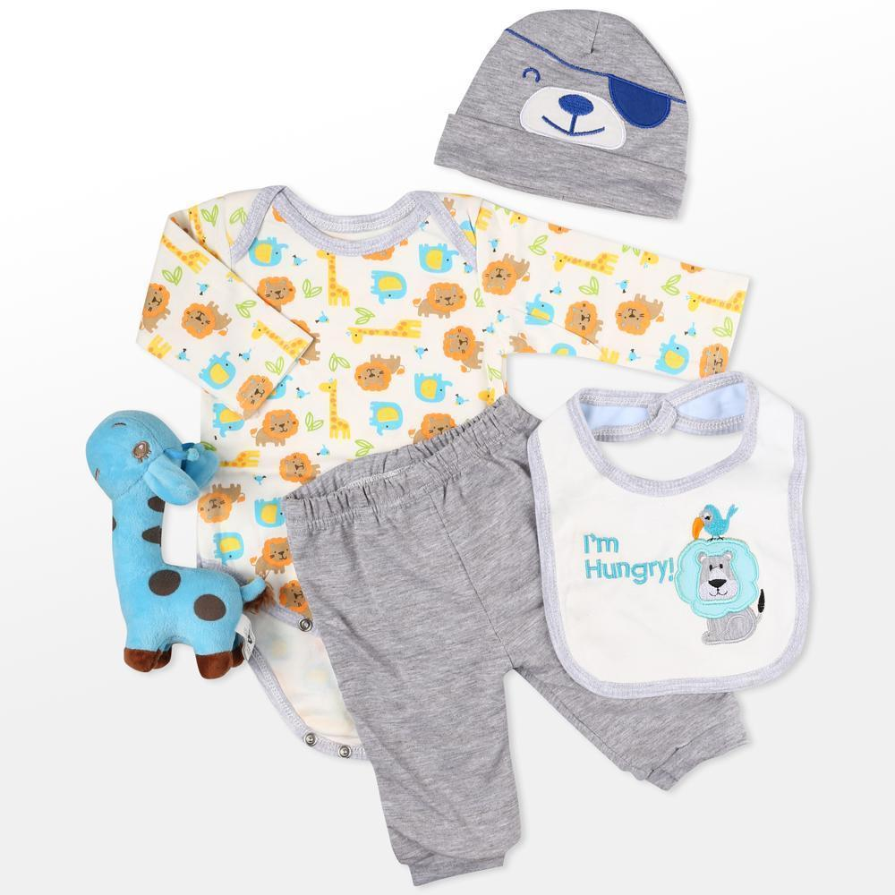 Reborn Dolls Baby Clothes Outfit for 20″- 22″ Reborn Doll Girl Baby Clothing  4 pieces sets