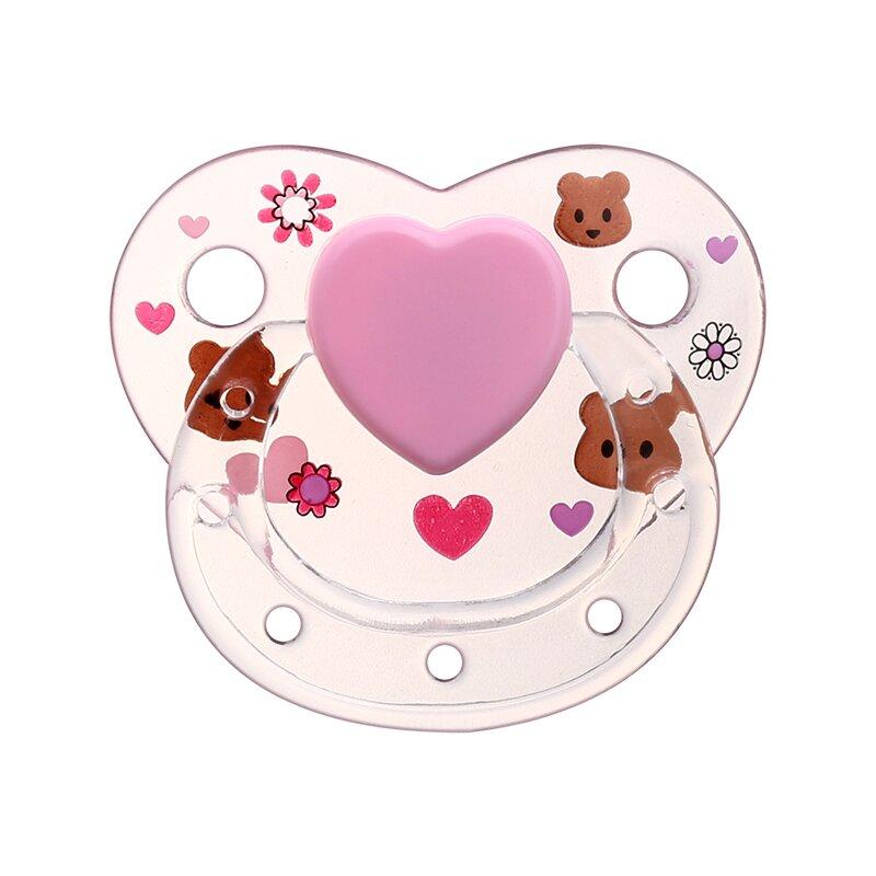 bear transparent magnetic pacifier