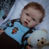 22″Kids Play Gift Kathy Reborn Saskia Baby Doll Boy, Realistic&Lifelike Newborn Baby Dolls