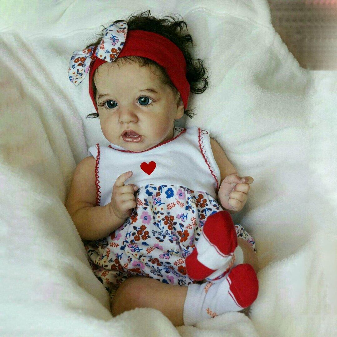 "22"" Beautiful Kamari Touch Real Reborn Baby Doll Girl"
