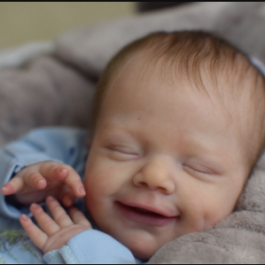 """20"""" Truly Lovely Lincoln Reborn Baby Doll Boy – So Truly Lifelike Baby"""