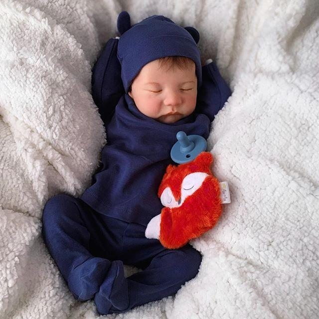 "20 "" Real Lifelike Pierce Reborn Baby Boy"