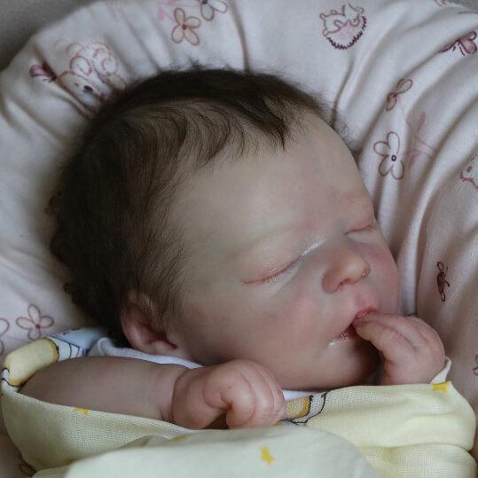 "Lifelike 17.5"" Jazmin Reborn Baby Doll Boy"