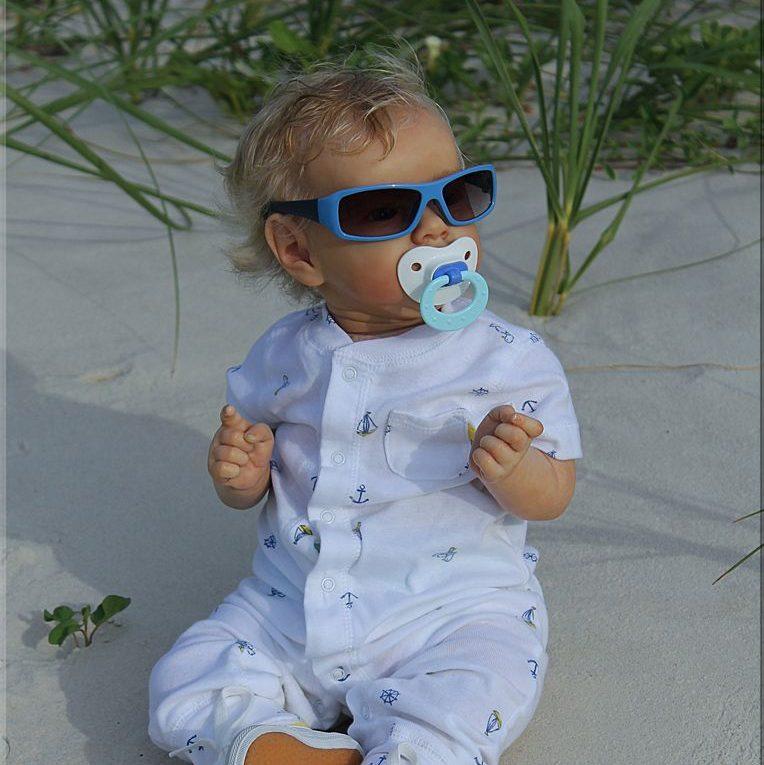 "Realistic 22"" Hagan Reborn Baby Doll Boy"