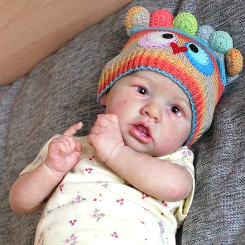 "22"" Handmade Reborns Madeline Reborn Baby Doll Boy Toy"