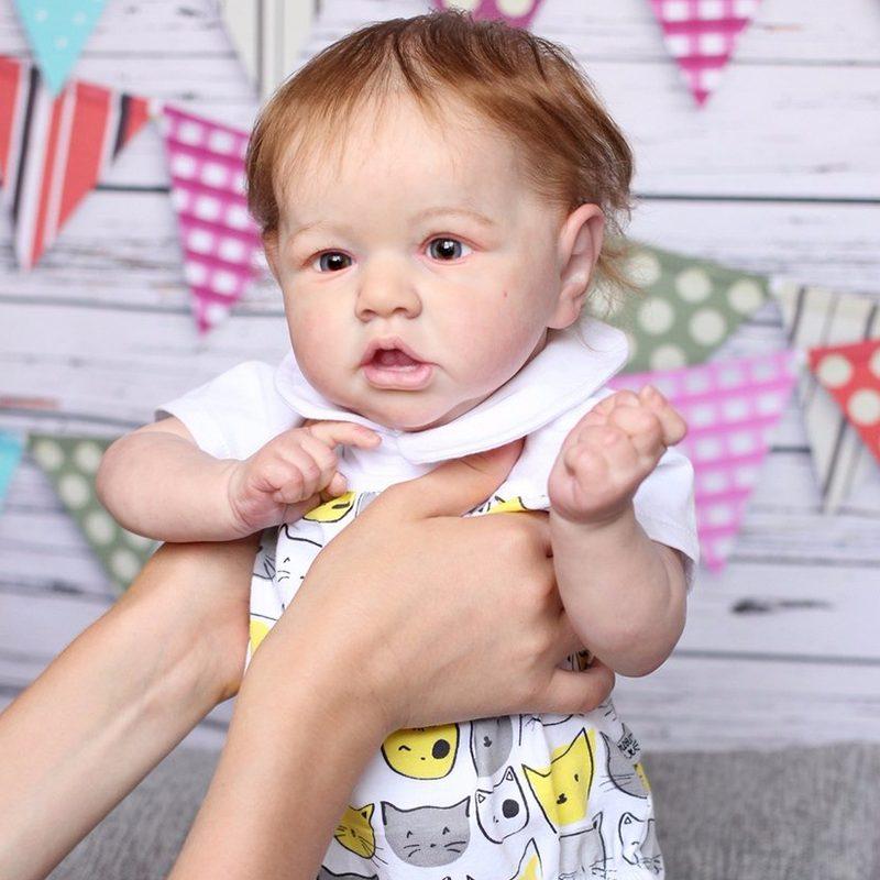 "22"" Kids Reborn Lover Madeline Reborn Baby Doll Boy"