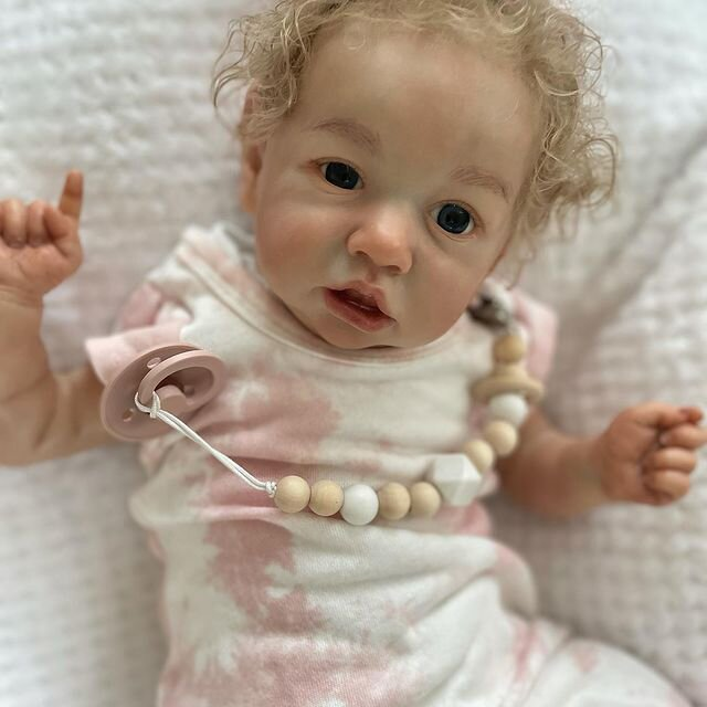 """22"""" Pretty Celia Touch Real Reborn Baby Doll Girl"""