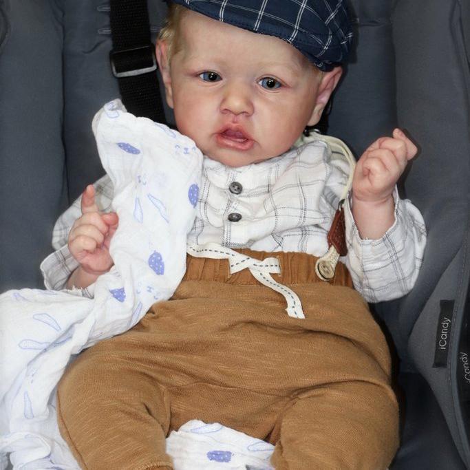 "22"" Truly Emiliano Reborn Baby Doll Boy – Best for Kid Gift"