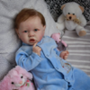 22″Kids Play Gift Kate Reborn Saskia Baby Doll Boy, Realistic&Lifelike Newborn Baby Dolls