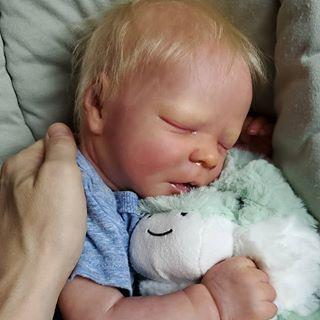 "Lifelike 17.5"" Tony Reborn Baby Doll Boy"