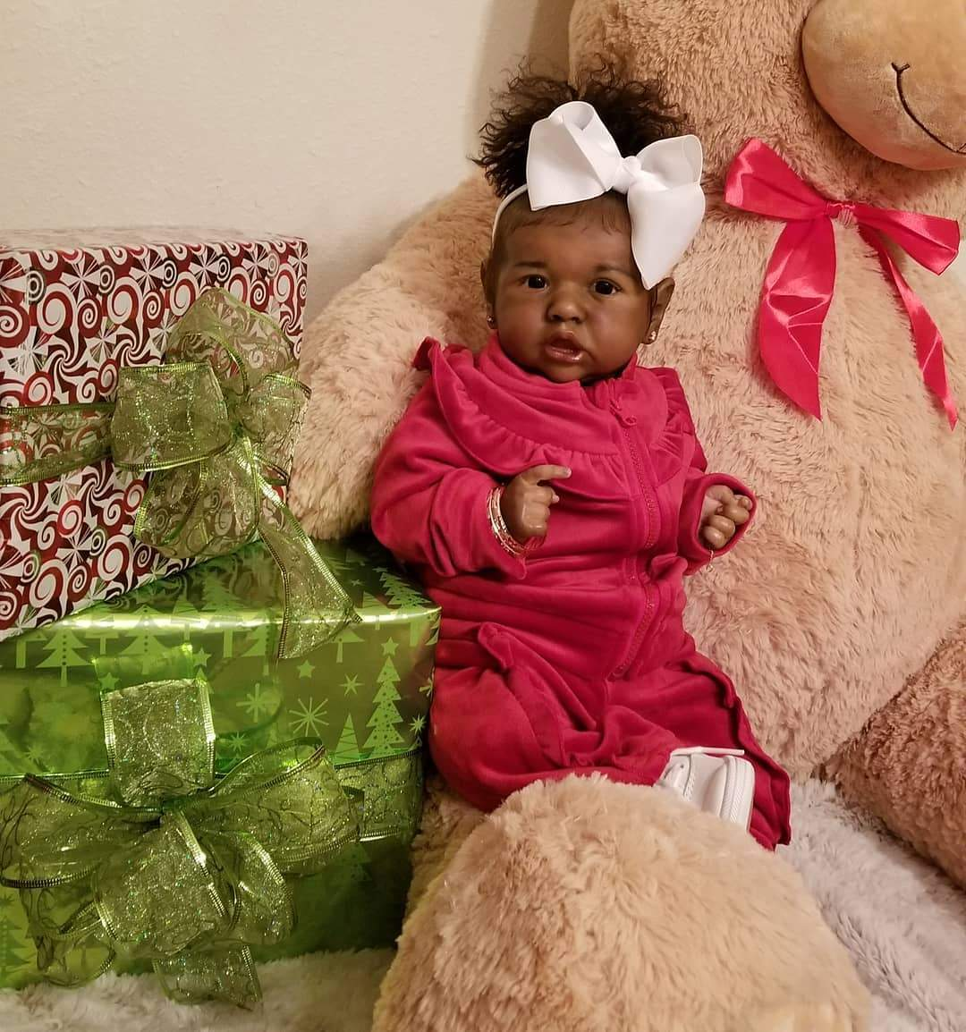 "22"" Brandi Truly Reborn Baby Doll Girl"