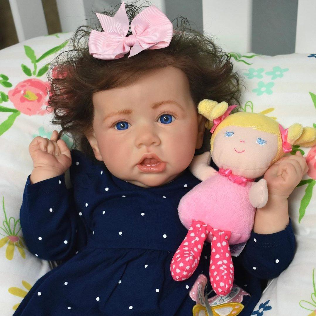 "Realistic 22"" Carlene Reborn Baby Doll Girl Gift"