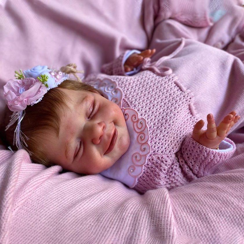 "12"" Kids Play Gift Iris Reborn Baby Doll Girl"