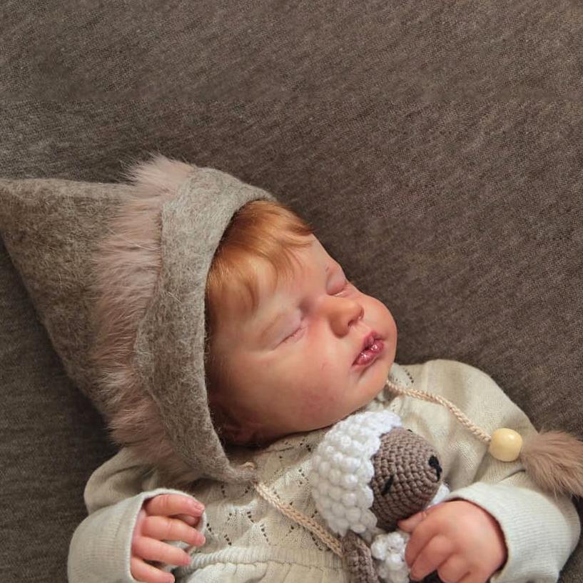 "20"" Kids Play Gift Carly Reborn Baby Doll Girl"
