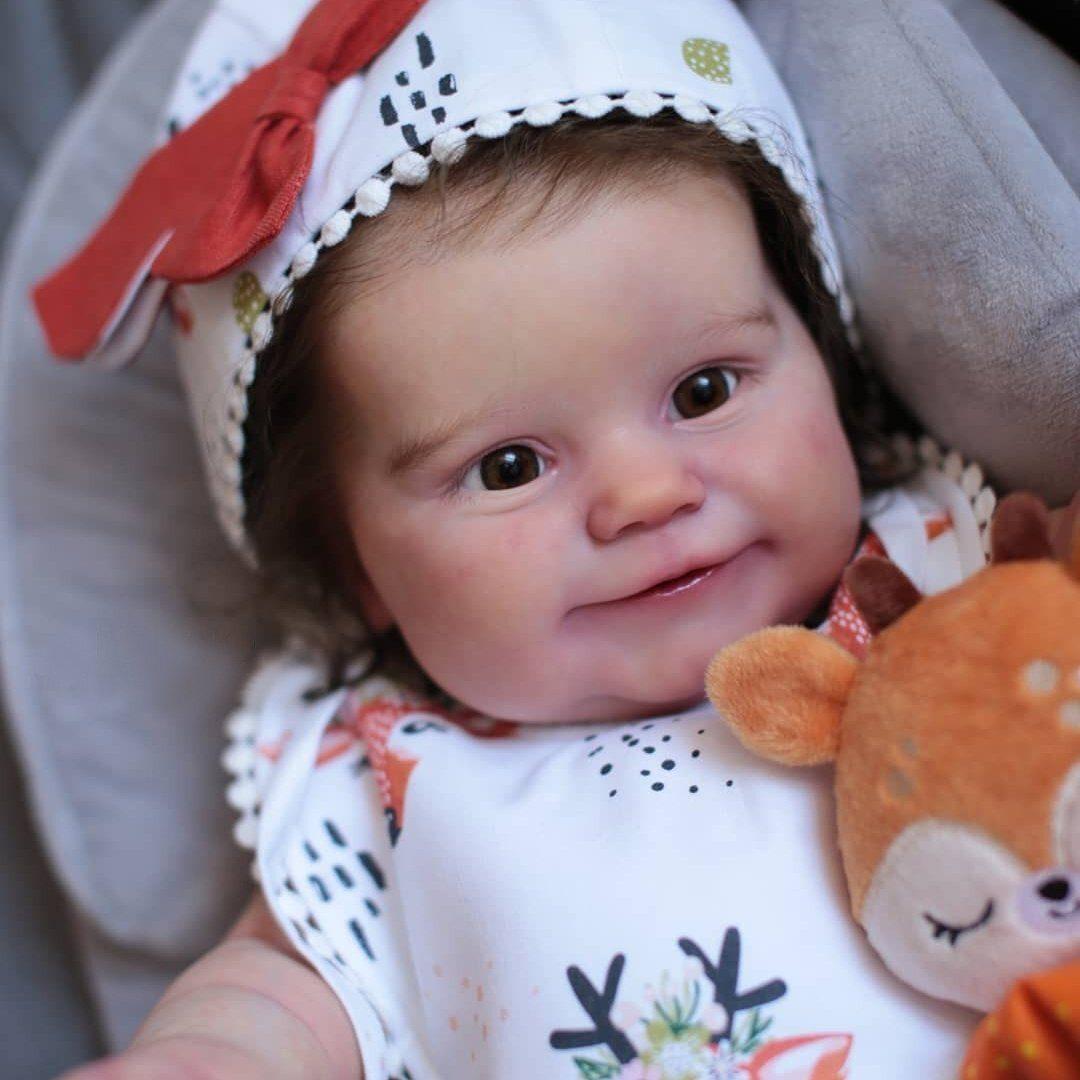 "20"" Kids Play Gift Leona Reborn Baby Doll Girl"