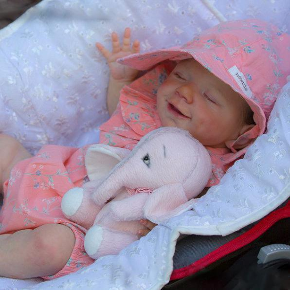 "12"" Kids Reborn Lover Veronica Reborn Baby Doll Girl"