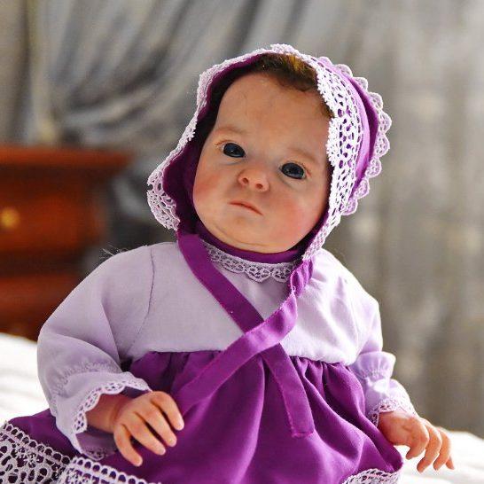 18″ Shea Realistic Reborn Baby Girl Real Lifelike Doll