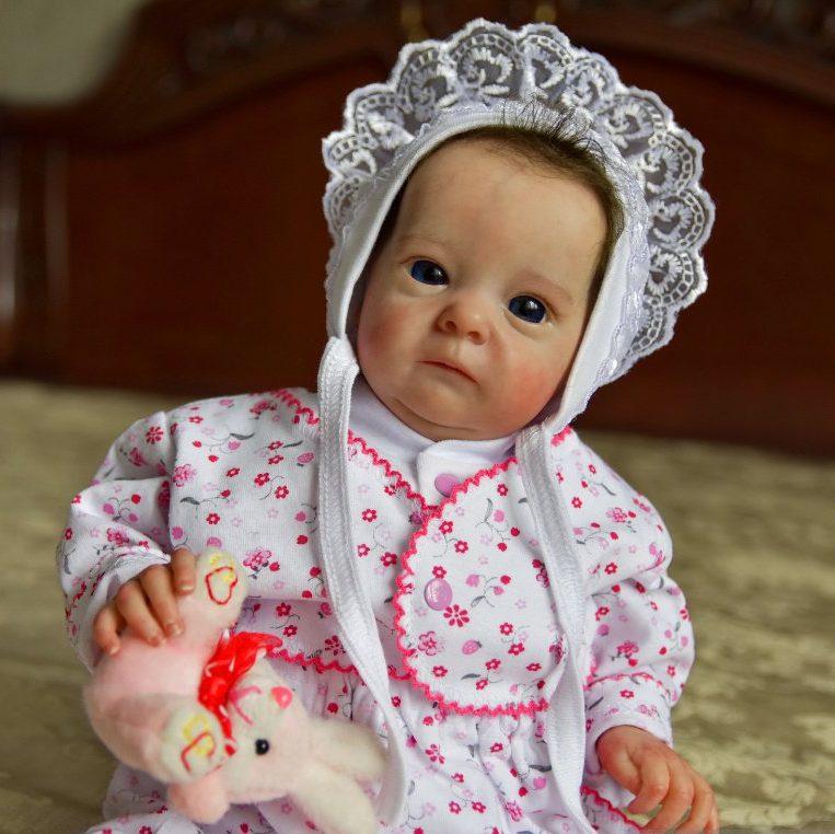 18″ Kane Realistic Reborn Baby Girl Real Lifelike Doll