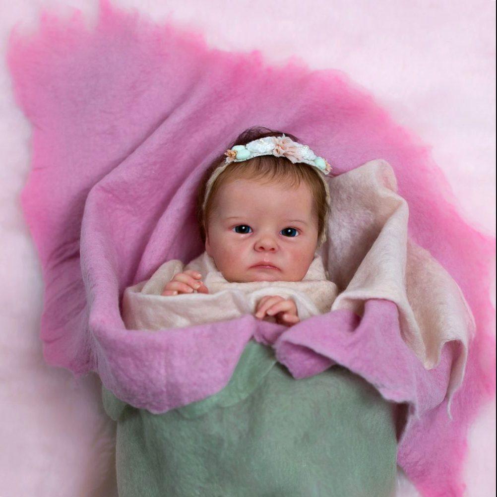 18″ Doyle Realistic Reborn Baby Girl Doll