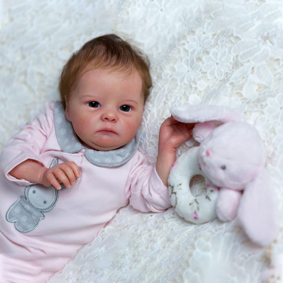 18″ Potter Realistic Reborn Baby Girl Doll