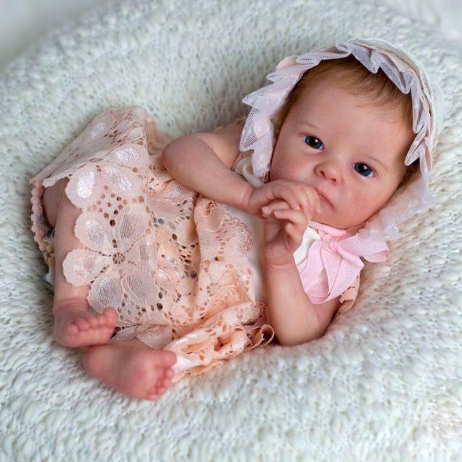 18″ Robey Realistic Reborn Baby Girl Doll