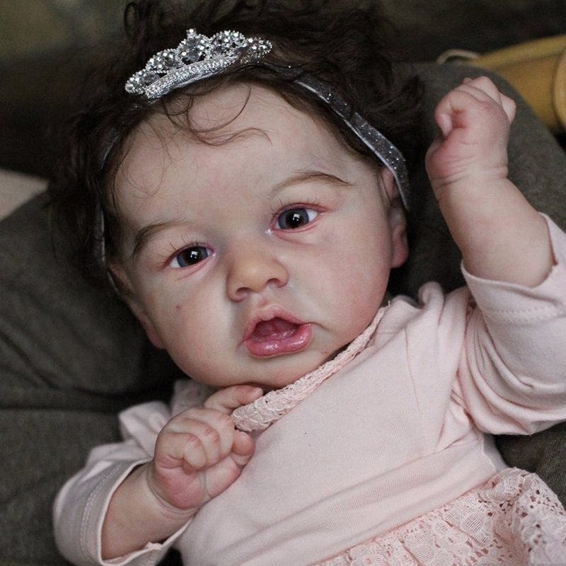 "12"" Handmade Reborns Julia Reborn Baby Doll Girl Toy"