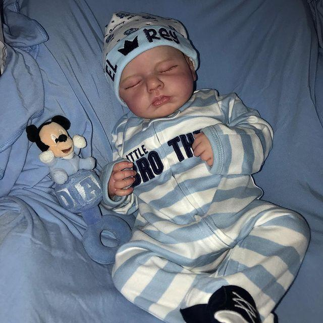 "20"" Handsome Lane Reborn Baby Doll Girl Toy"