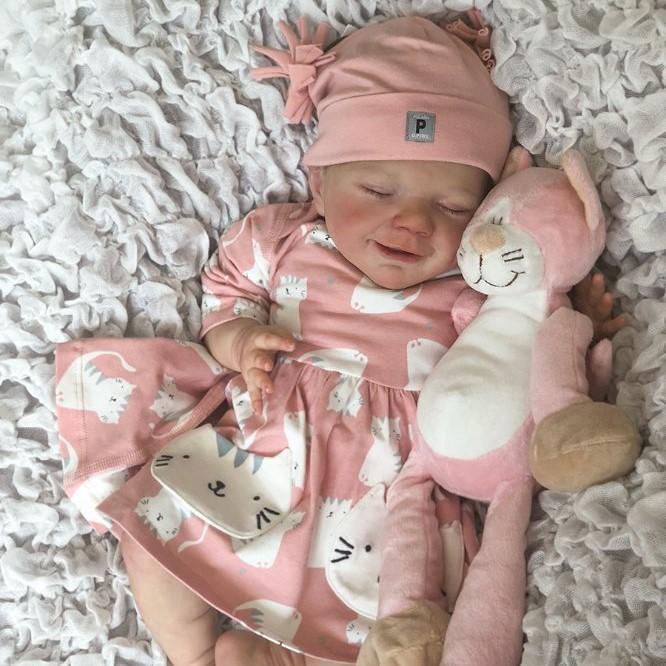 "12"" Kids Reborn Lover Kenzie Reborn Baby Doll Girl"