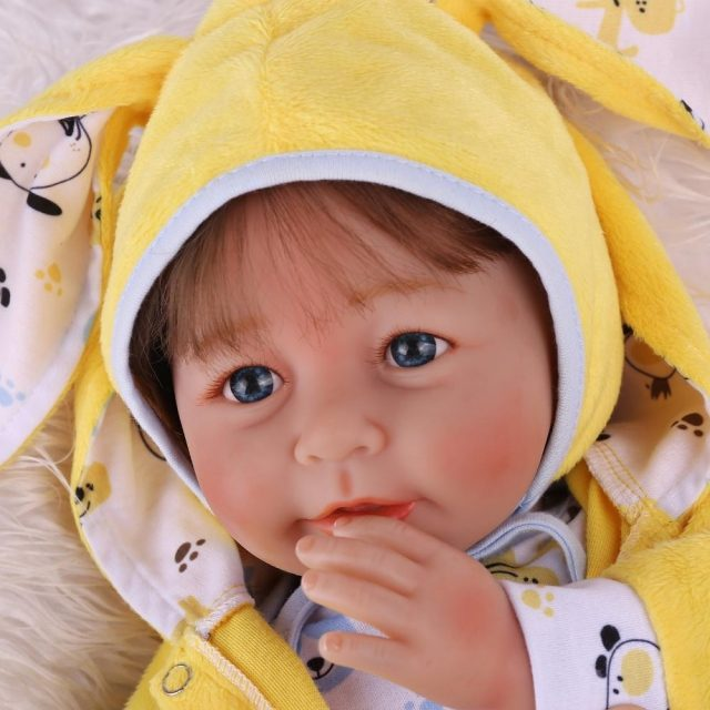 20″ Soft Body Babies Brainna Cute Toddler Realistic Girl Doll
