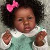 "22"" Ramos Lifelike Soft Black Reborn Baby Doll Girl"