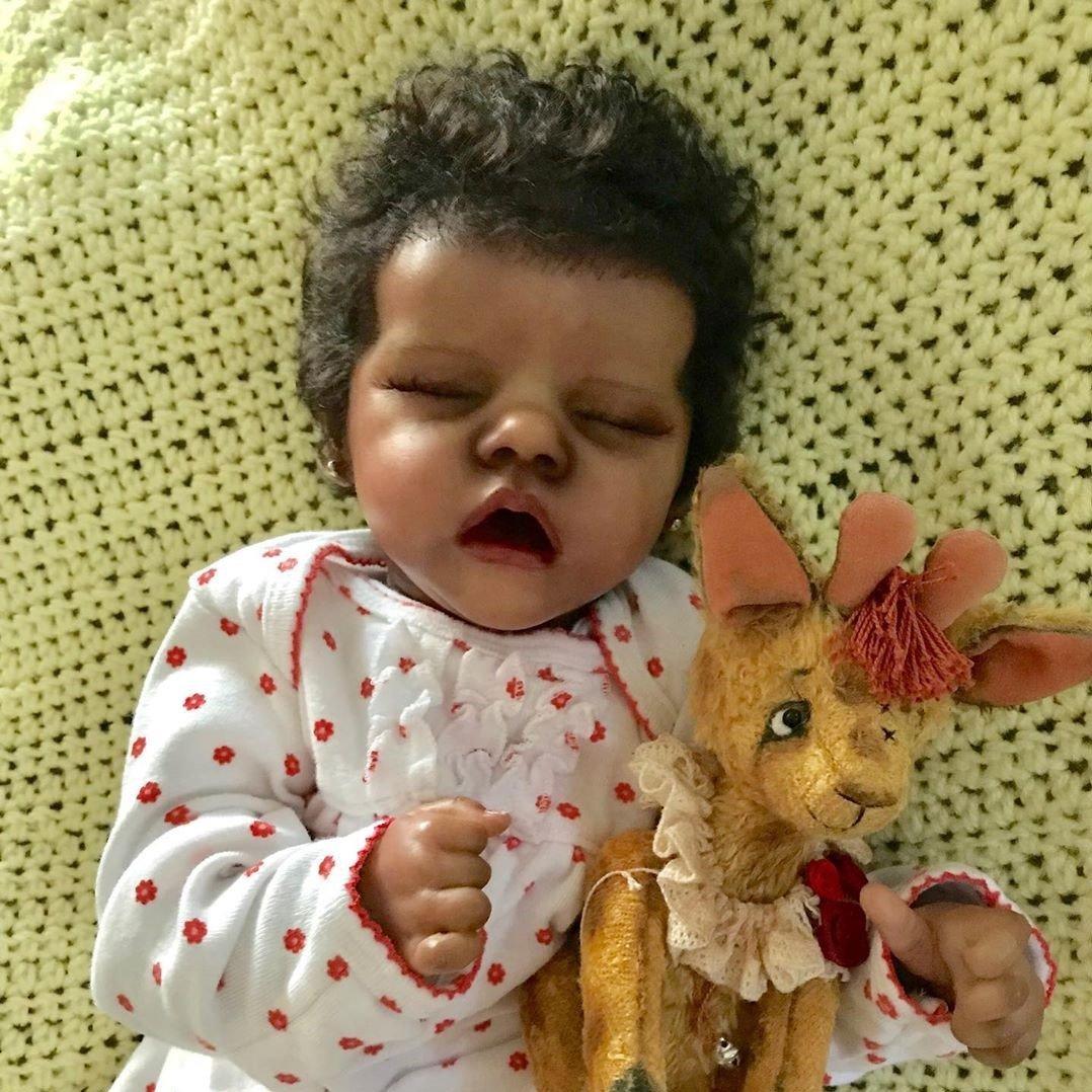 "17"" Lifelike Javkie Reborn Baby Doll Girl"