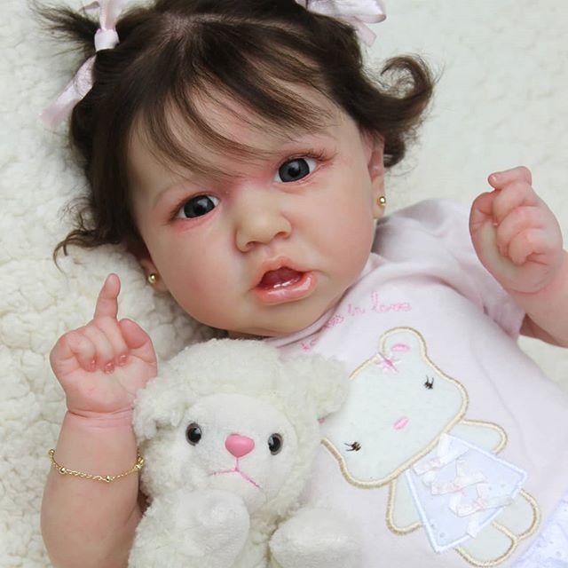 "12"" Hilary Realistic Reborn Baby Girl"