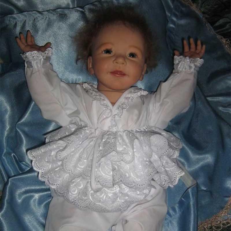 "Truly Baby Girl Doll Girl Little Reid 20"" Realistic Reborn dolls"