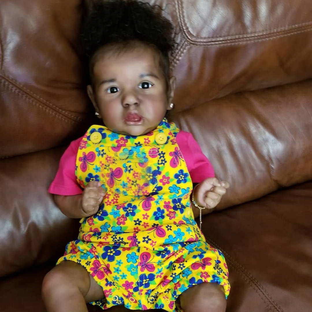 """22"""" Parvin Truly Reborn Baby Doll Girl"""