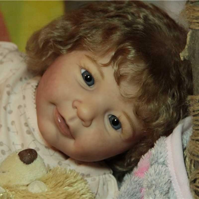 "Realistic 20"" Cutest Reborn Baby Doll Girl Nelson"