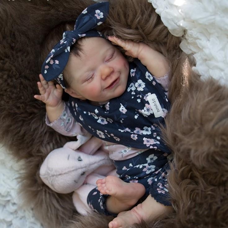 "12"" Kids Reborn Lover Kinley Reborn Baby Doll Girl"