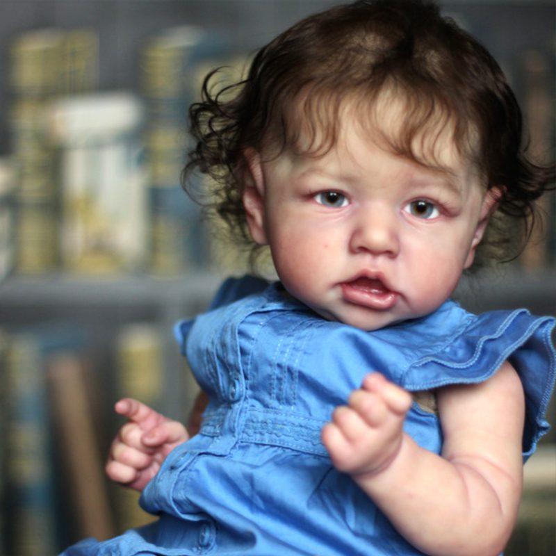 "12"" Kids Reborn Lover Emersyn Reborn Baby Doll Girl Toy"