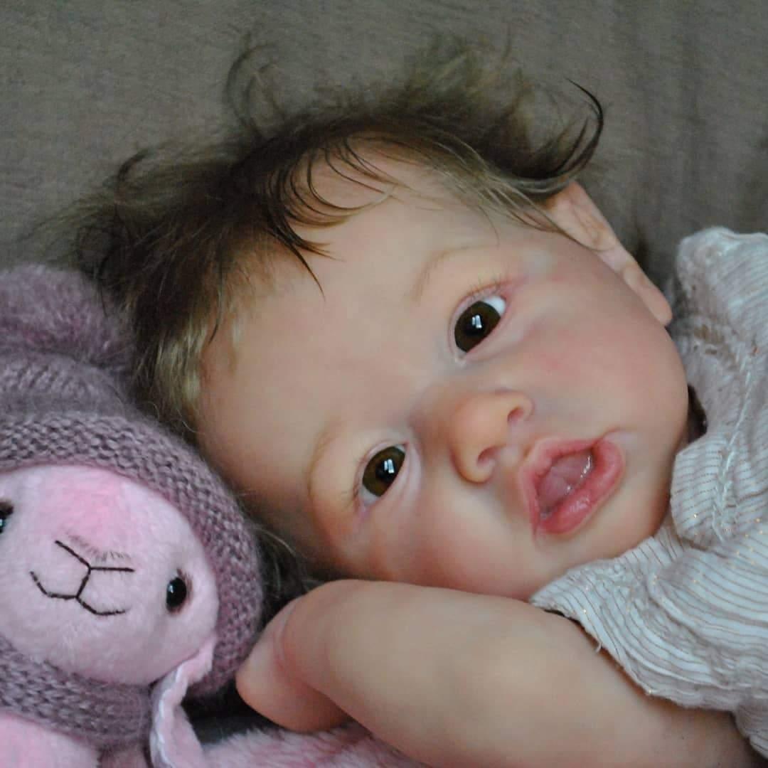"Realistic 12"" Sweet Lynda Reborn Baby Doll Girl Handmade s Gift Lover"