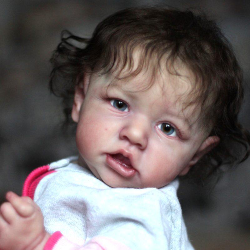 "12"" Handmade Reborns Wren Reborn Baby Doll Girl Toy"
