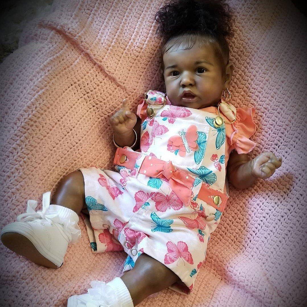 "22"" Truly Nicole Reborn Baby Doll Girl"