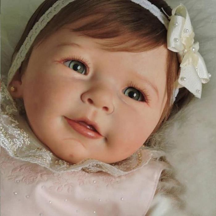 Truly Reborn Doll Karina Girl Vinyl Baby Collectible dolls