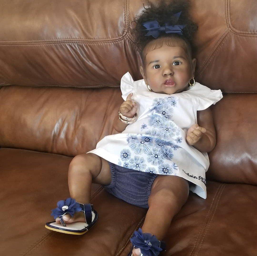 """22"""" Truly Melia Reborn Baby Doll Girl"""