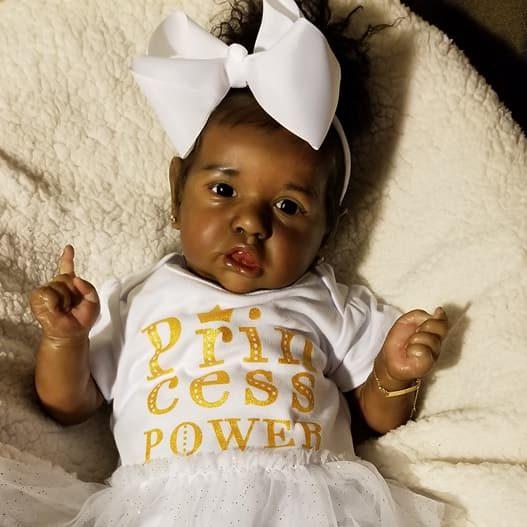 "22"" Reborn Doll Shop Archibald Reborn Baby Doll Girl"